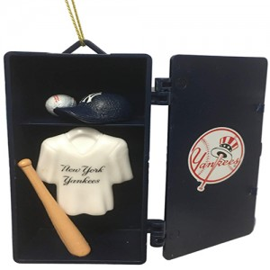 New York Yankees Team Sports Navy Team Locker Christmas Tree Ornament