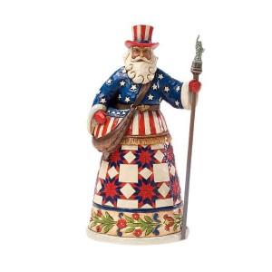 Jim Shore American Santa