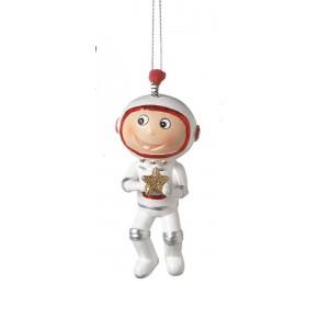 Astronaut Resin Christmas Ornament