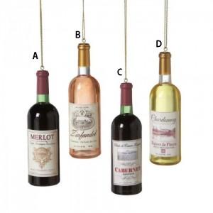 Wine Bottle Ornament
