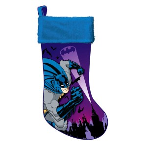 Batman Applique Stocking