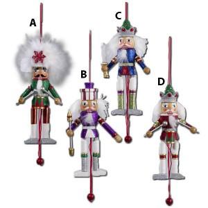5 Inch Pull Puppet Nutcracker Ornament