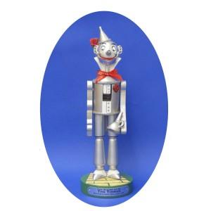 Traditional Tin Man Wizard of Oz Wooden Christmas Nutcracker