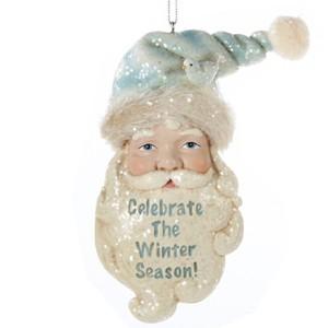 Inspirational Santa Claus Christmas Ornament