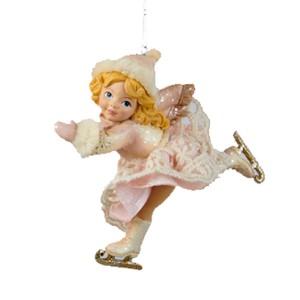 Girl Ice Skater Ornament