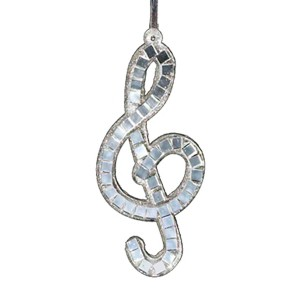 Treble Clef Musical Ornament
