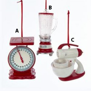 4.13 Inch Kitchen Appliance Christmas Ornament