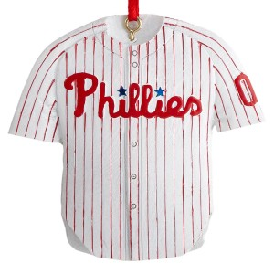 MLB Phillies Jersey Christmas Ornament
