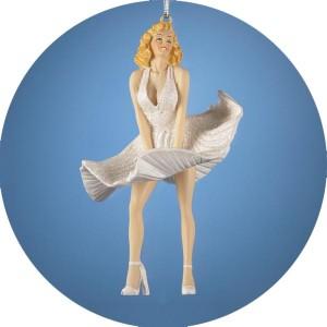"Marilyn Monroe ""Seven Year Itch"" Christmas Ornament"