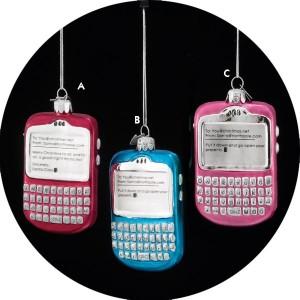 Glass PDA Ornament