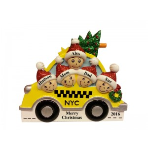 New York Taxi Family Table Top-5