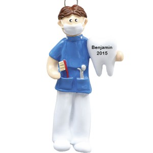 Dentist Personalized Christmas Ornament
