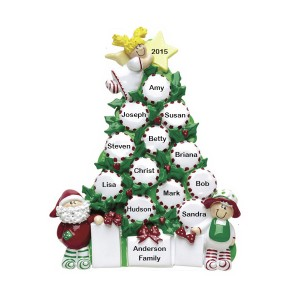 Peppermint Tree Personalized Table Top