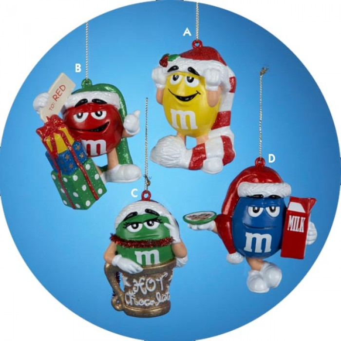M M Candy Christmas Ornament Christmas And City