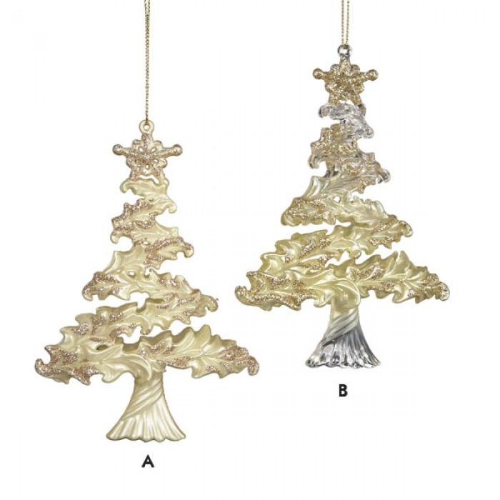 Gold Themed Christmas Decorations : Ivory and gold christmas tree ornament color