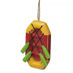 River Raft Ornament