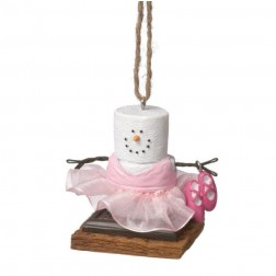 S'more Ballerina Christmas Ornament