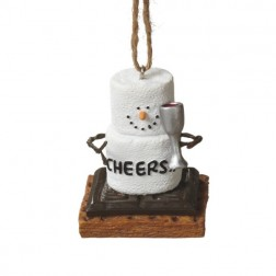 S'mores Cheers Christmas Ornament
