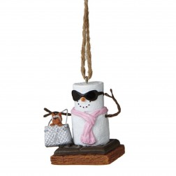 S'mores Diva Ornament