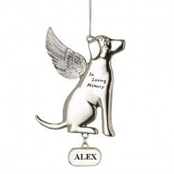 Memorial Dog Personalized Christmas Ornament
