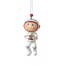 Astronaut Resin Christmas Ornament