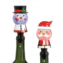 Lighted Character Bottle Stopper