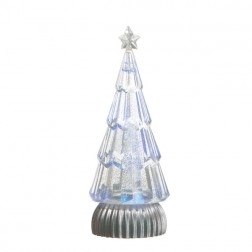 Lighted Shimmer Tree with Witch Eye Base
