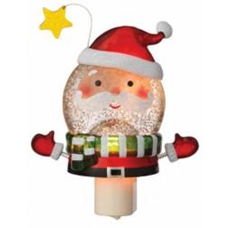 Shimmer Santa Disk Night Light