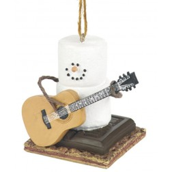 S'mores with Guitar Ornament