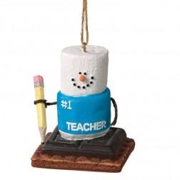 "S'mores ""#1 Teacher"" Ornament"