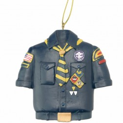 Cub Scout Blue Shirt Christmas Ornament
