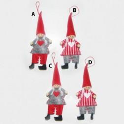 5 Inch Elf Girl Ornament