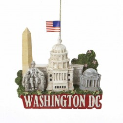 City Travel Washington DC Ornament