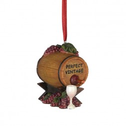 Tuscan Winery Vintage Reserve Ornament