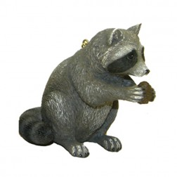 Racoon Christmas Ornament