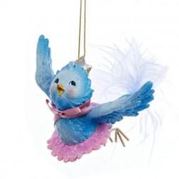 Bluebird Princess Ornament