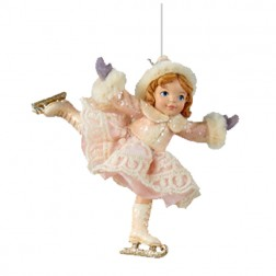 Girl Ice Skater Ornament