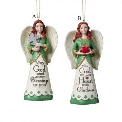 Irish Angel Ornament