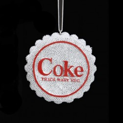 Diet Coke Bottle Cap Ornament