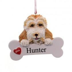 Cockapoo Dog Personalized Ornament