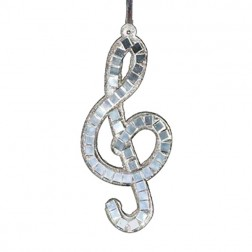 Treble Clef Musical Ornament