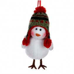 Bird Figure Christmas Ornament
