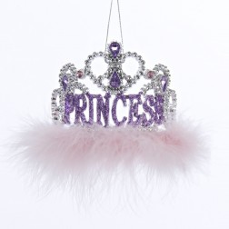 Princess Tiara Crown Christmas Ornament