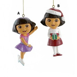 "3.5"" Dora Blow Mold Ornament"