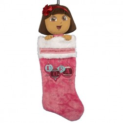 Dora the Explorer Dora Plush Head Stocking
