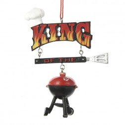 King of the Grill Christmas Ornaments