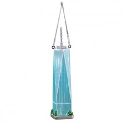 """Noble Gems """"Freedom Tower"""" Christmas Ornament"""