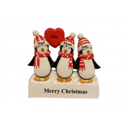 Penguin Family of 3 Table Top