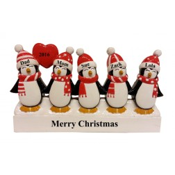 Penguin Family of 5 Table Top