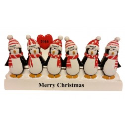 Penguin Family of 6 Table Top